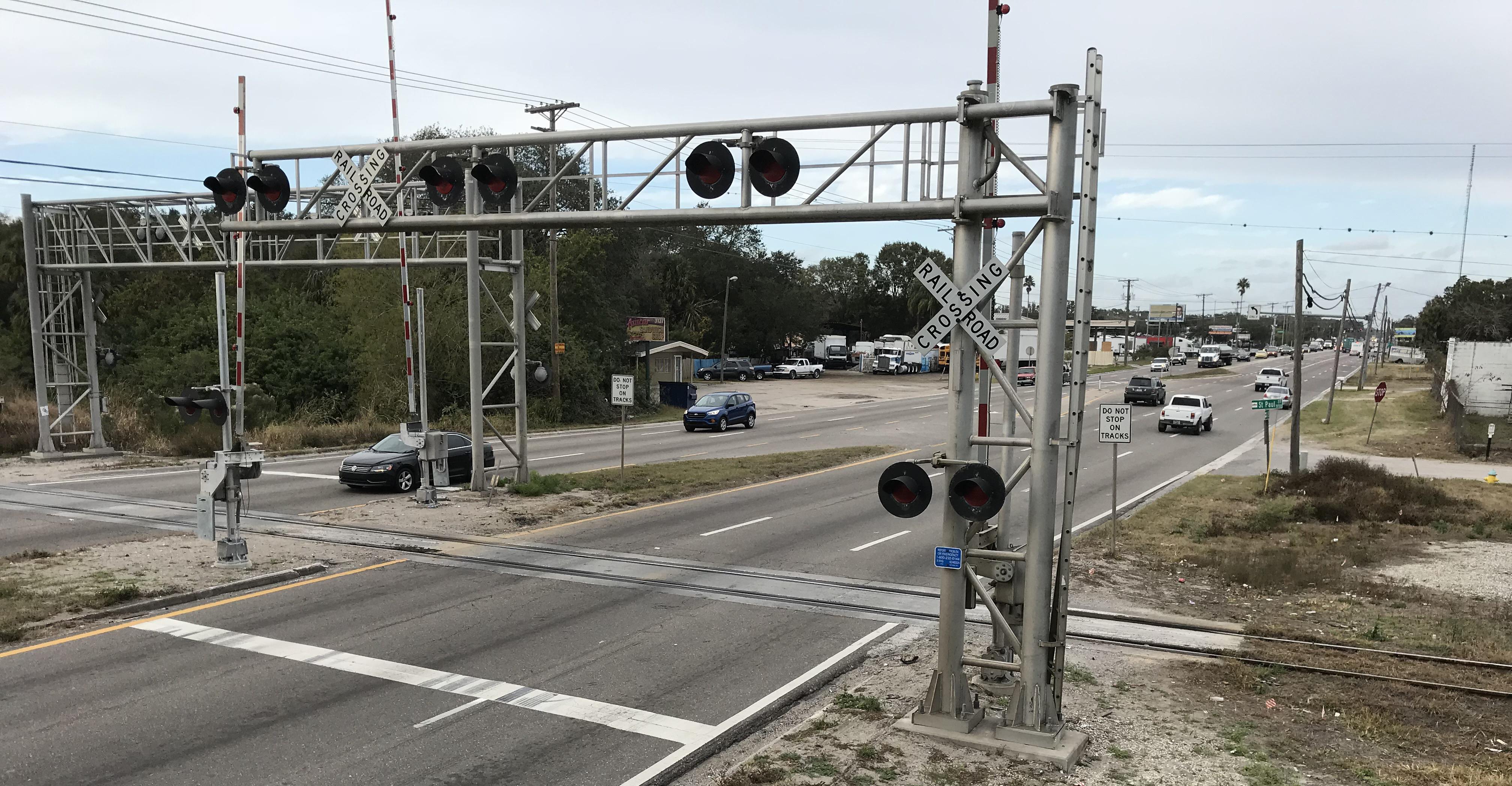 FDOT District Seven US 41 at CSX Railroad Project